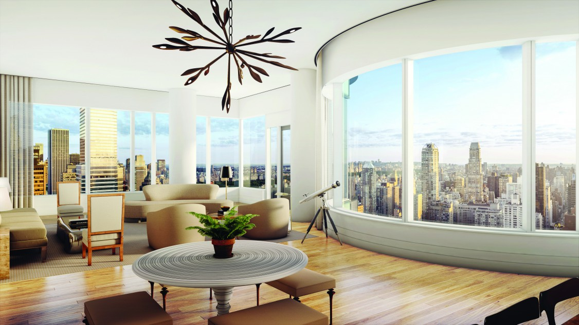 Use of curved glass