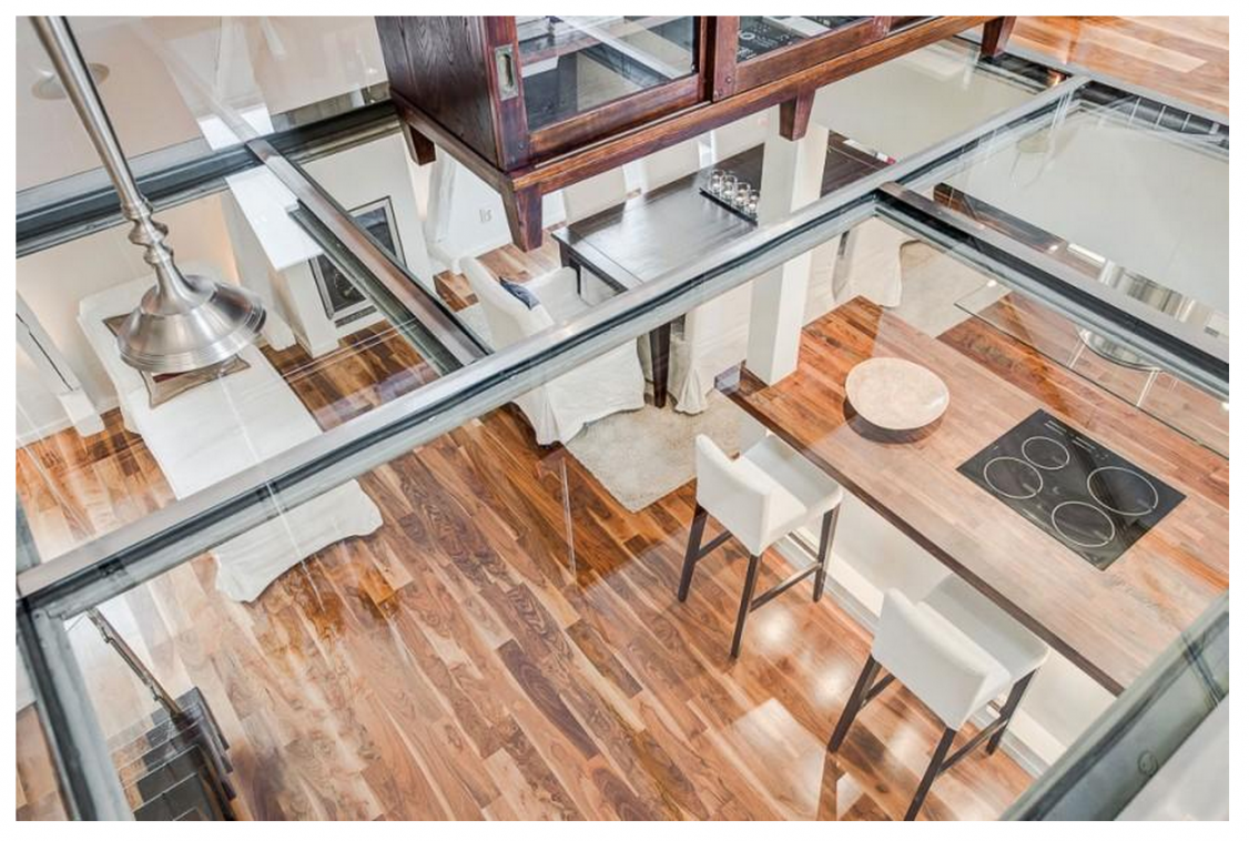 Glass floor application 1