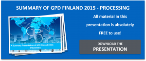 Summary of the GPD 2015 Energy presentations