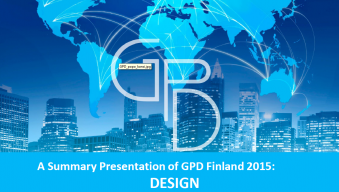 GPD2015 design trends