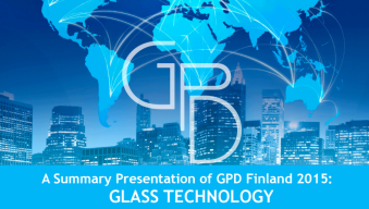 Glass technology trends GPD2015
