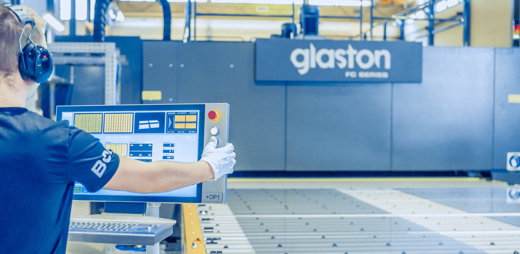 Glaston FC Series flat tempering line