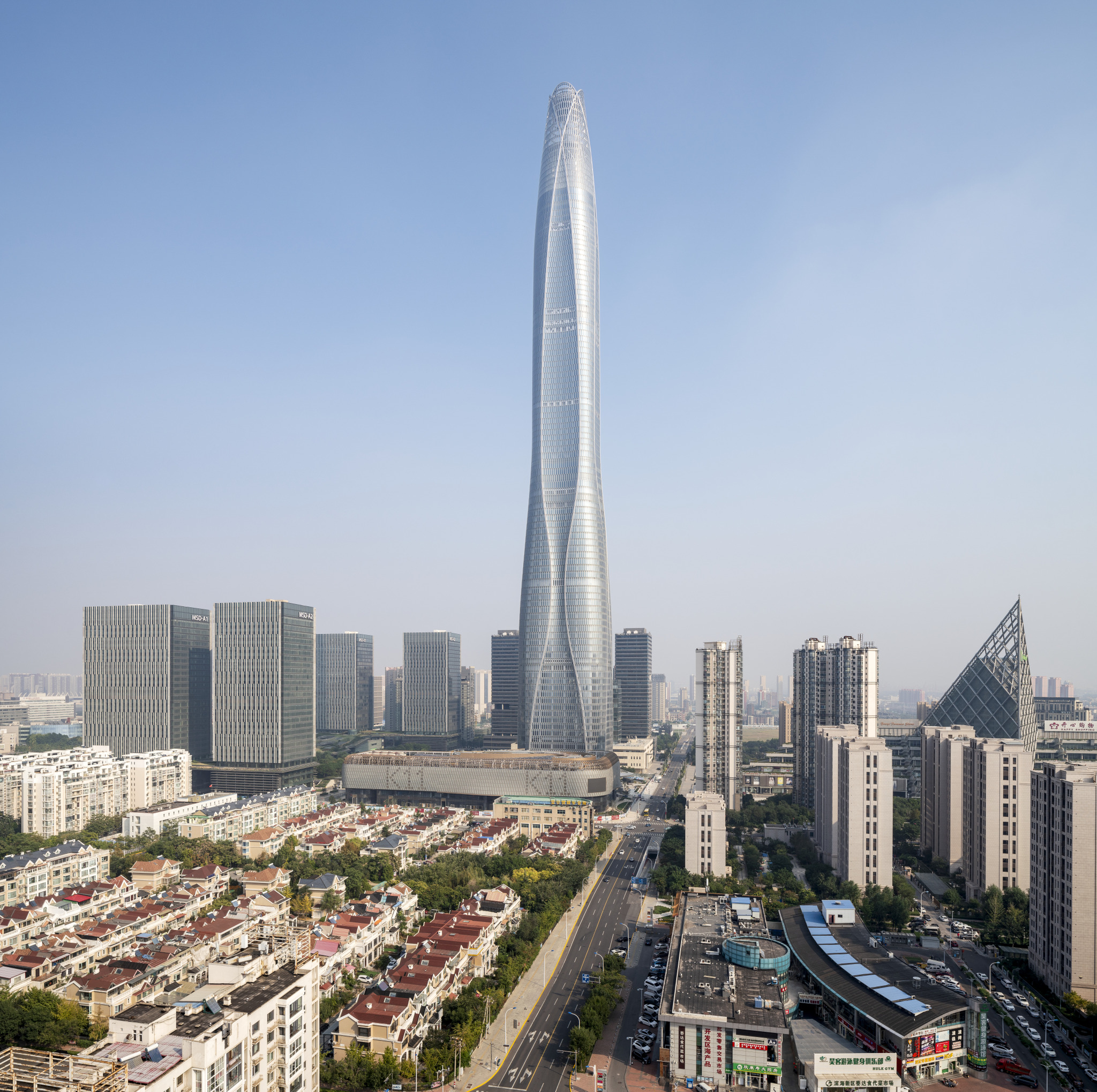 Glastory: Tianjin CTF Finance Center