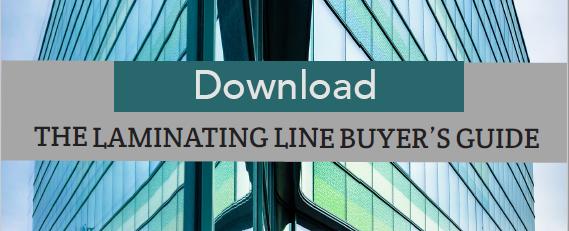 Laminating line CTA
